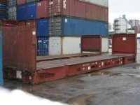 40 Ft Flat Rack Container
