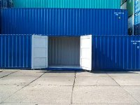 40 Ft Side Doors Container