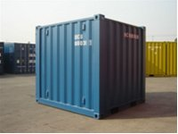 8 Ft Small Shipping Container (CSC approved)